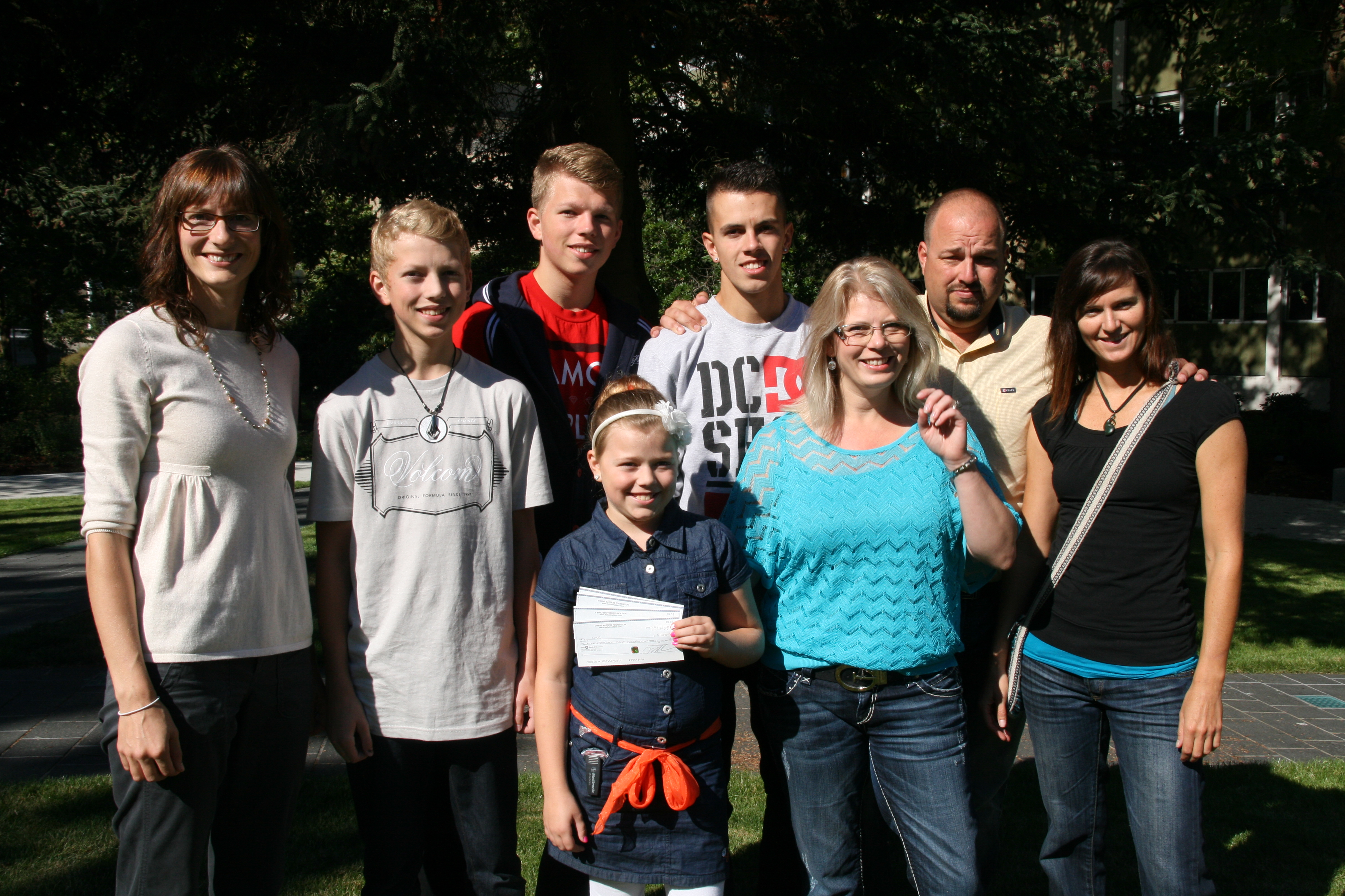 VanderHoek Family Raises $32,013 for Diabetes Research at the UBC Faculty of Medicine